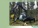 Schreitharvester von Plustech Oy / Finnland - Wallpaper 1