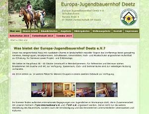 Europa-Jugendbauernhof Deetz e.V.